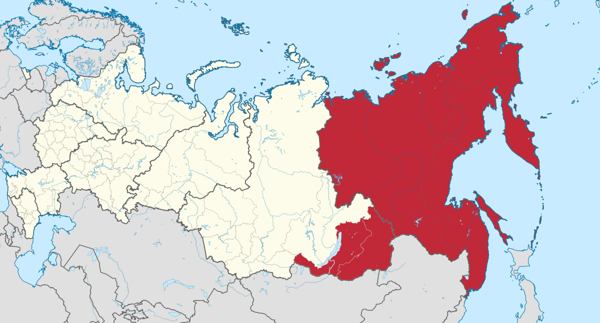 Le drapeau rouge flotte sur l'Extrême-Orient russe