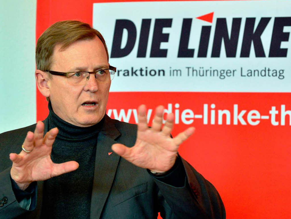 """Une coalition """"Rot-rot-grüne"""" en Thuringe (ex-RDA) ?"""