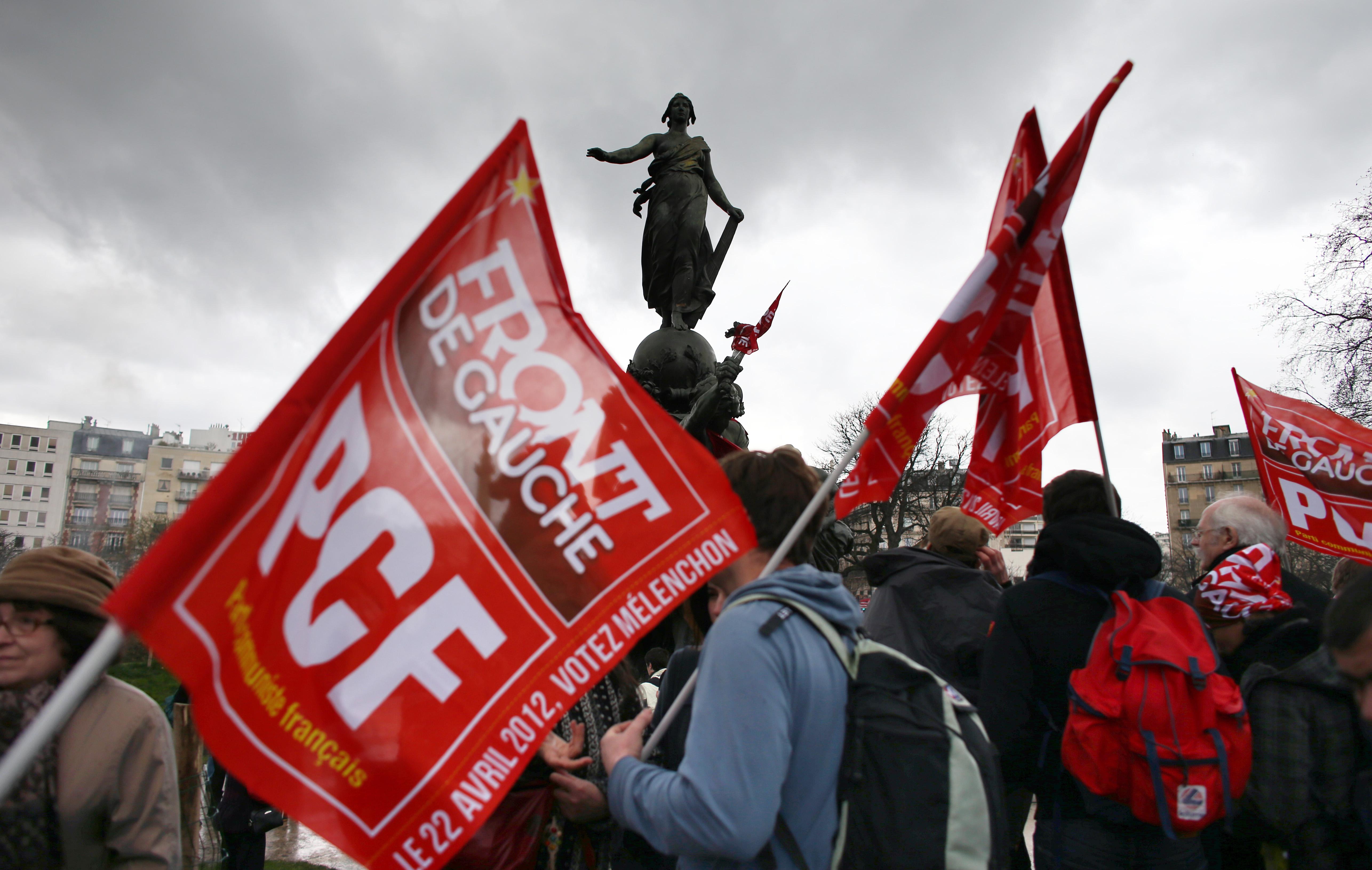 Le Front de Gauche première force à gauche dans l'ancienne banlieue rouge