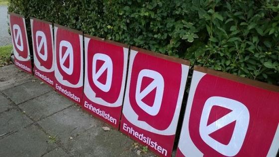 7,8% pour  Enhedslisten lors des élections législatives danoise