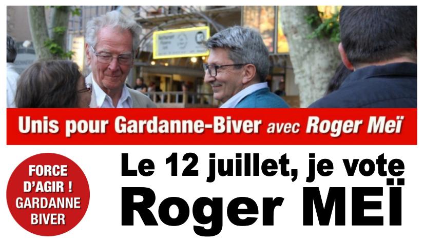 Victoire de Roger Meï (PCF) à Gardanne