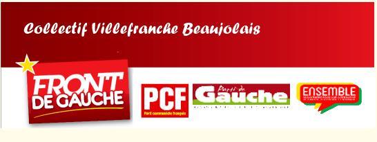 Régionales 2015 : le Front de Gauche Beaujolais (Rhône) derrière Cukierman en Rhône-Alpes - Auvergne