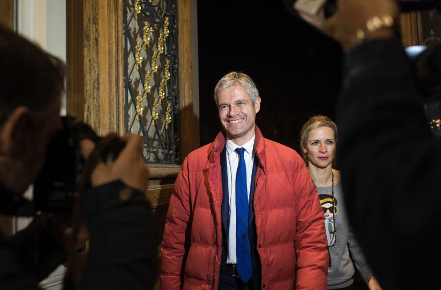 Laurent Wauquiez (LR) l'emporte en Auvergne-Rhône-Alpes, 7 élus PCF