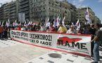 Grèce : Des milliers de manifestants en grève générale