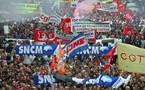 Plus de 100000 manifestants a Marseille ce matin