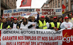 Soutien total au syndicat CGT de General Motors Strasbourg contre le chantage patronal