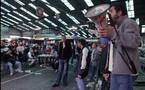 Manifestation des traminot de la RTM:3 novembre