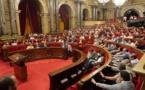 """Le parlement catalan déclare que la Catalogne est une """"République"""""""