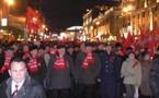 Les Communistes russes célèbrent les 90 ans de la Révolution d'Octobre