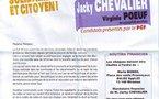 Canton Istres-Sud: Jacky Chevalier et Virginie Poeuf candidats du renouveau
