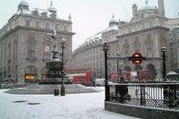 Une partie de l'Europe de l'ouest ralentie par une neige inhabituelle