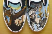 Les chaussons Dali