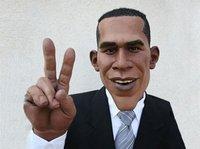 """Marionette Obama des """"Guignols de l'info"""""""