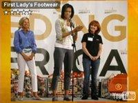 Michelle Obama commet son premier faux-pas