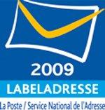 Le label 'Labeladresse 2009' décerné à Anyresa par La Poste