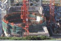 un réacteur EPR en construction