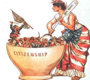 Le melting pot américain