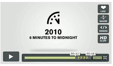La Pendule de l'apocalypse retardée d'une minute