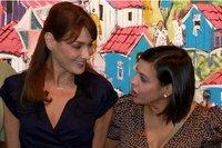 France: Carla Bruni-Sarkozy visite une école 'modèle' à Washington et autres news