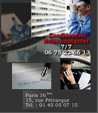 Agence Lowell: Detective prive Paris