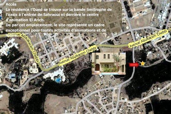 Tunisie: résidence hotel Tozeur