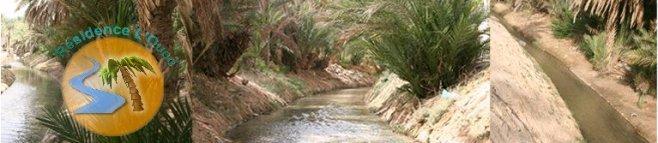 Cliquez sur la banniere pour afficher le site de la Résidence l'Oued