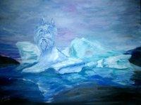 Les Bleus au pied du glacier