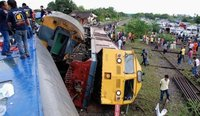 Monde: un accident de train fait 76 morts au Congo