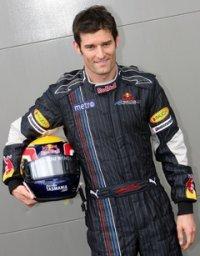 Mark Webber survit à l'accident de sa Red Bull