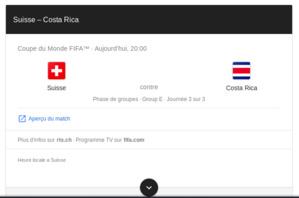 Pronostic Suisse Costa RIca