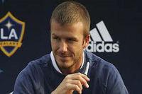 David Beckham Un superbe geste et une explosion de joie