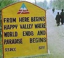 Baramulla au Pakistan avant le séisme