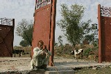 Gakharail, frontière Inde-Pakistan, sud-Cachemire
