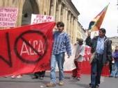 Marche contre l'ALCA-OMC