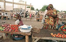 N'Djamena - Le marché