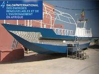 Le bateau à énergie solaire de Frederic Nouaisser