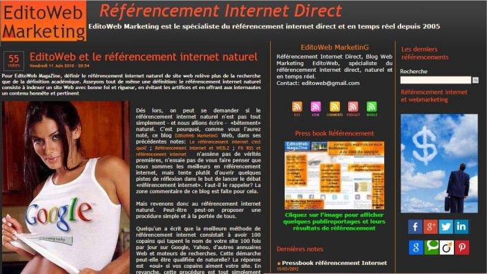 Référencement internet SEO Paris