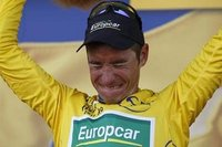 Cyclisme: Thomas Voeckler, maillot jaune!