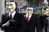 Anonymous frappe l'Autriche