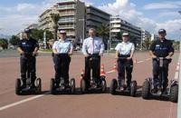 Faits divers ou humour: la police en trottinette