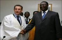 France: Sarkozy comme un africain