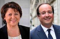 Aubry et Hollande, le face à face