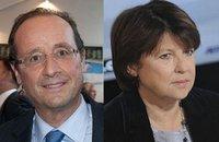 Dernier duel télévisé Aubry-Hollande