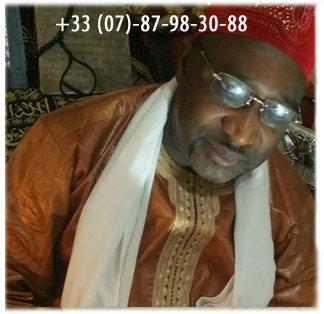 Oumar Ntaya marabout guérisseur est à Paris 19ème Tel: 07 87 98 30 88