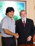 Lula et Morales