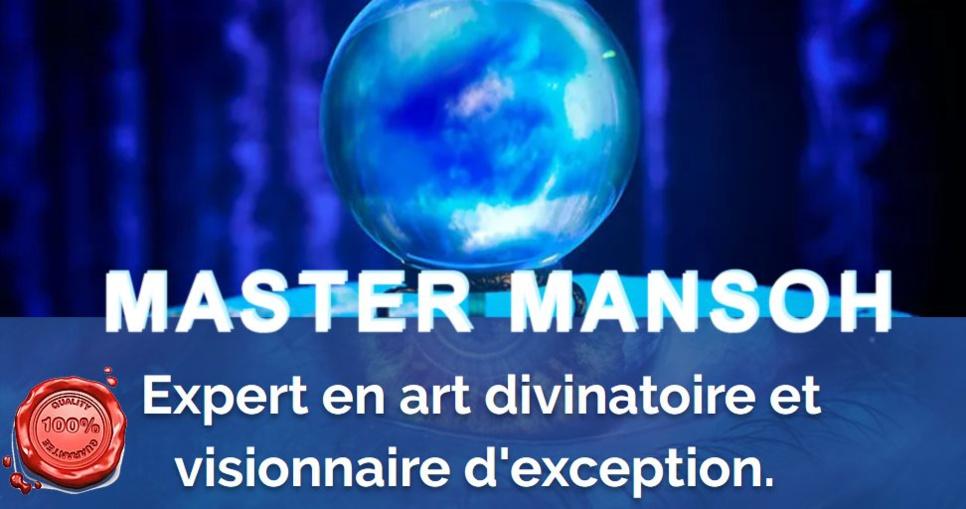 Mansoh clairvoyant medium marabout canton de Vaud