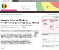 Groupe SCAC Afrique Mbomboye: Mamadou Ndione veut bloquer l'habitat social