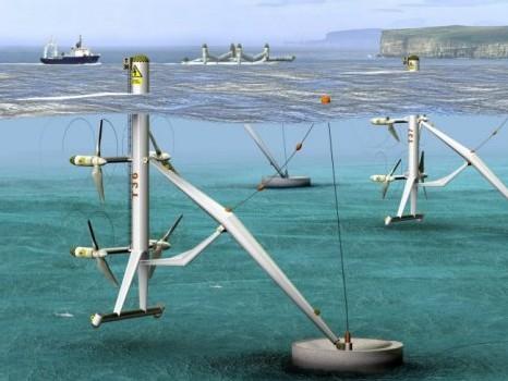 Energie: hydroliennes sous-marines