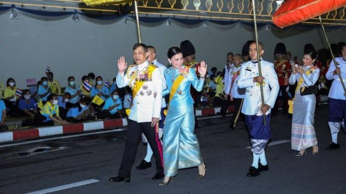 Les manifestants Thaïlandais disent non à la monarchie