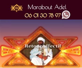 Retour affectif Carcassonne Monsieur Adel, retour amour medium guerisseur voyant chance et protection
